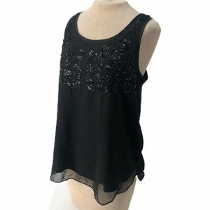 Romeo & Juliet Couture Sequined Tank Top